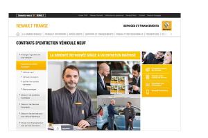 travaux de concepteur rédacteur freelance pour Renault